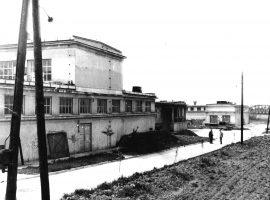 Budynek chemiczny z częścią administracyjną